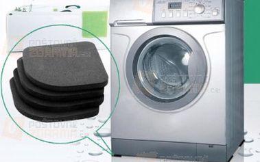 Antivibrační podložky pod pračku - 4 kusy a poštovné ZDARMA! - 25512912