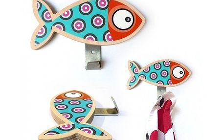 Věšák rybka modrá