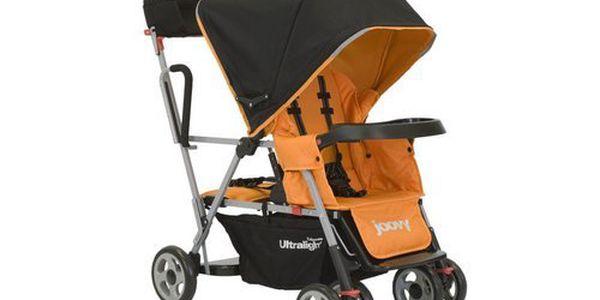 Joovy - Kočárek Caboose Ultralight oranžový