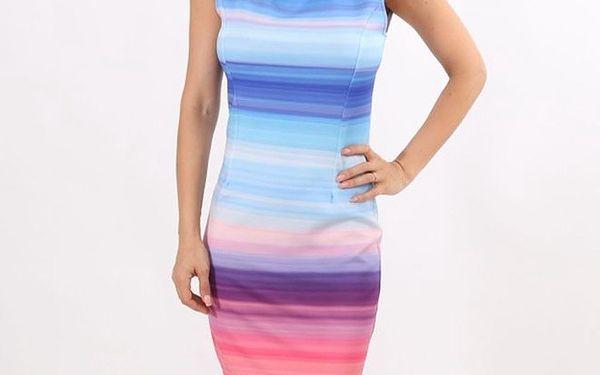 Dámské pruhované vícebarevné šaty Santa Barbara