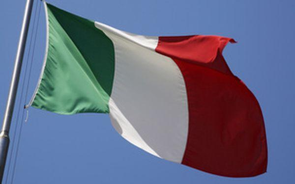 Italština - pokročilí začátečníci, rodilá mluvčí, úterý 19 hod., 3-6 osob, 18 týdnů se slevou v Plzni