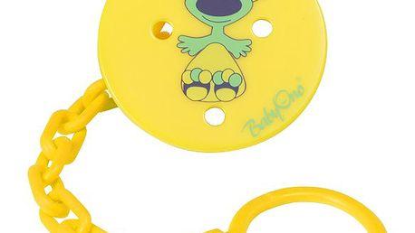 Baby ono - Řetízek - klip na šídítko koala žlutá - 044