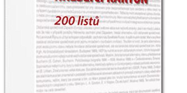Kreslicí karton A4 200 g - 200 ks