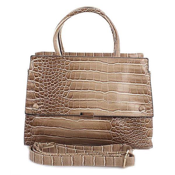 Dámská kabelka se vzorem krokodýlí kůže London Fashion