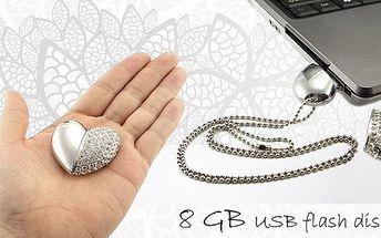 Luxusní USB flash disk jako šperk!