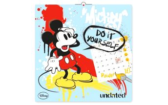 W. Disney Mickey Mouse - omalovánkový, poznámkový kalendář, 30 x 30 cm
