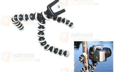 Flexibilní stativ na digitální fotoaparát - gorila a poštovné ZDARMA! - 29403824