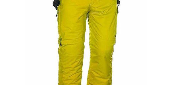 Pánské žluté lyžařské kalhoty Envy