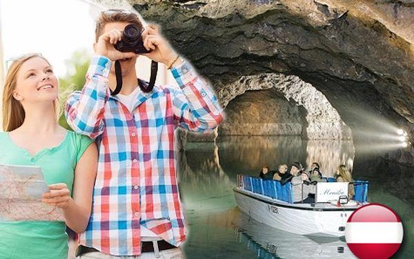 Největší podzemní jezero v Evropě, zámek Laxenburg a čokoládovna