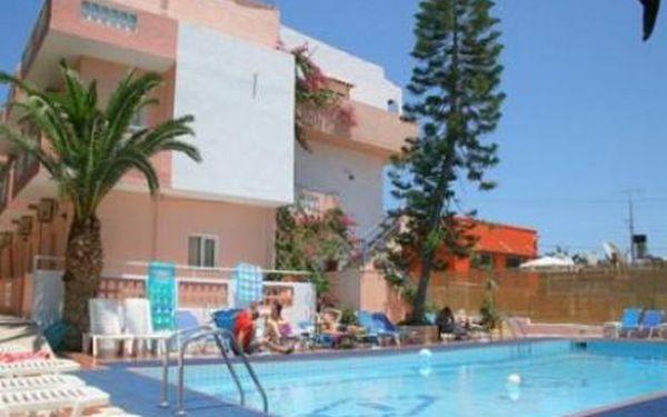 Řecko, oblast Kréta, letecky, bez stravy, ubytování v 3* hotelu na 8 dní