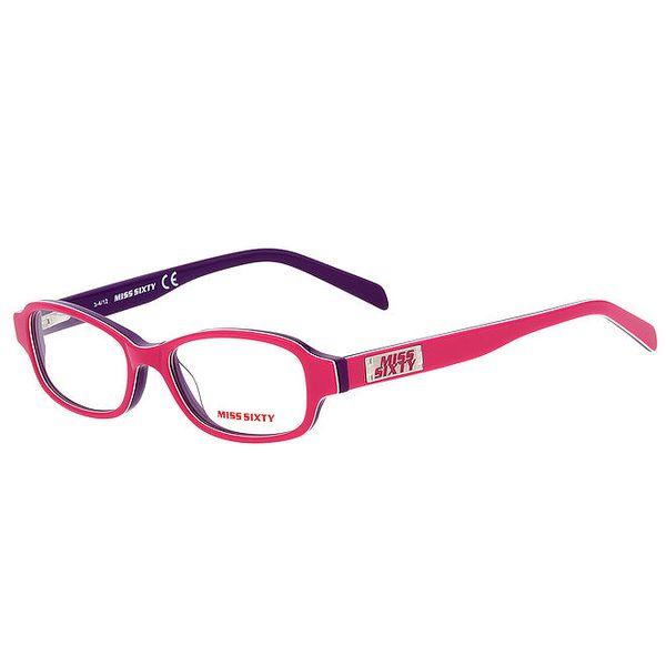 Dámské růžovo-fialové obroučky Miss Sixty