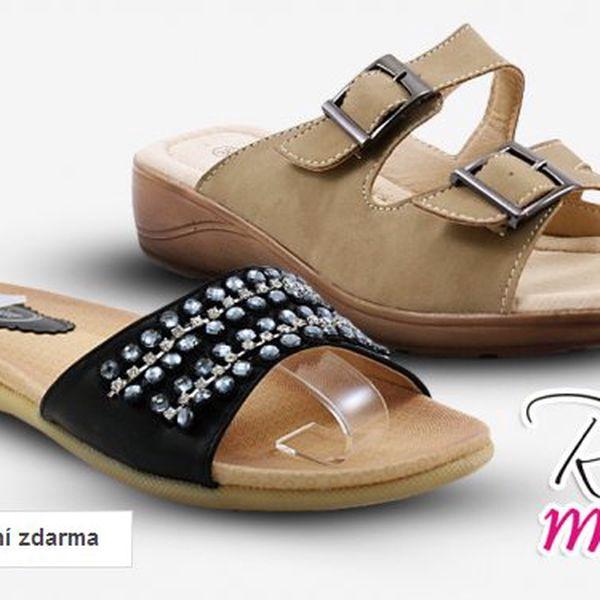 Dámské sandály a pantofle Rio