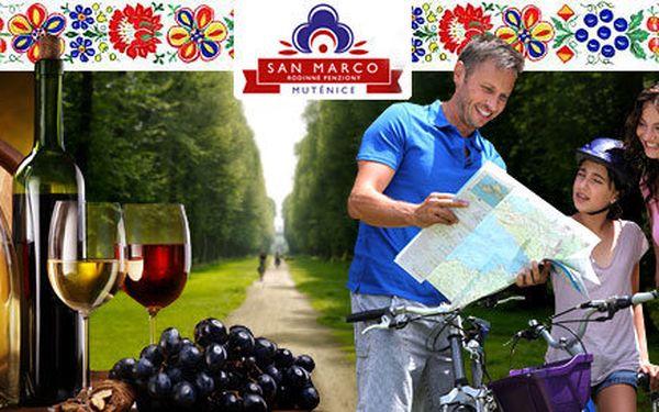 3denní pobyt v termínech vínobraní pro dva ve vinařské oblasti Mutěnice.