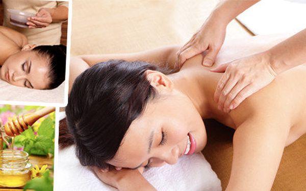 Čokoládová, medová nebo lymfatická masáž (60 minut)