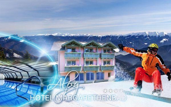 Luxusní rakouský hotel Margarethenbad**** a pobyt včetně POLOPENZE, SAUNY a bobové dráhy! Romatický podzim nebo LYŽAŘSKÝ FIRST MINUTE! Vyberte si 4 až 8 dní, za ceny již od 7999 Kč PRO DVA! Kupony platí až do dubna 2015!