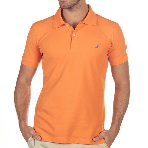 Pánské oranžové polo tričko Nautica