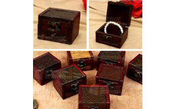 Vintage šperkovnice a poštovné ZDARMA! - 25912954