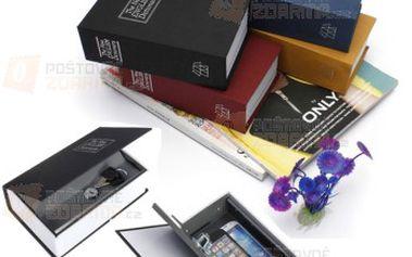 Trezor ve tvaru knihy a poštovné ZDARMA! - 26912981