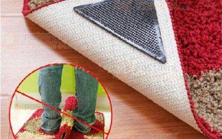 Protiskluzové podložky pod koberec - 4 kusy v balení a poštovné ZDARMA! - 25812951