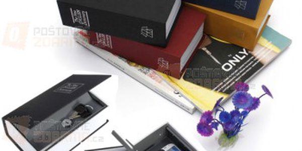 Trezor ve tvaru knihy a poštovné ZDARMA! - 25812981