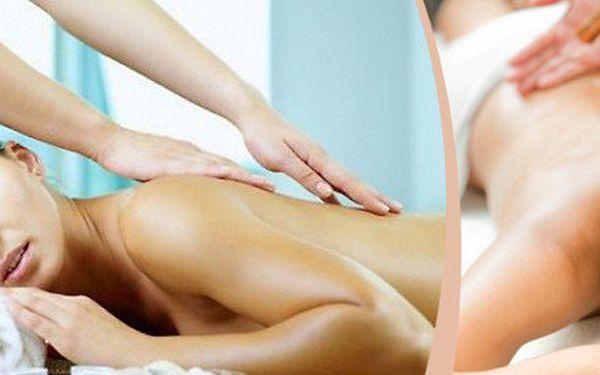 Masáž zad a šíje nebo Breussova masáž - na výběr dle variant