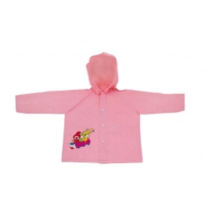 Kouzelná školka - pláštěnka dětská růžová, 5-6 let
