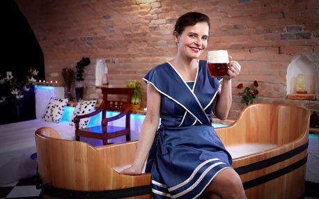 3999 Kč za 3-denní lázeňský pobyt pro DVA v Rožnovských pivních lázních s ozdravnými procedurami, poznávacím programem ve Skanzenu a ubytováním v ceně