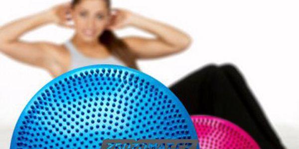 Masážní a balanční disk 33 cm - posilte břišní a zádové svalstvo!