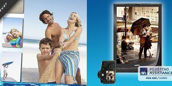 Nástěnný kalendář z Vašich fotografií již včetně poštovného!Sami si vytvořte ten svůj a radujte se z něj celý rok!