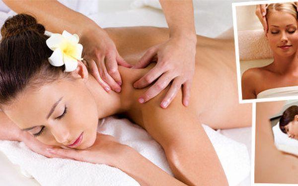 Uvolňující masáže dle vlastního výběru - 30 minut