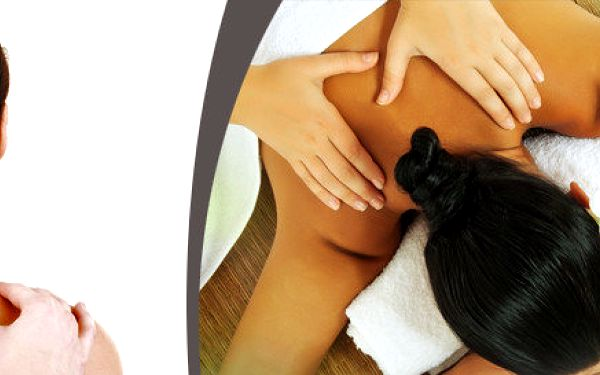 Speciální 60minutová zdravotní masáž zad a šíje + jemné techniky