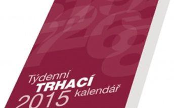 Kalendář blok A5, 2015, 14,3 x 20,5 cm