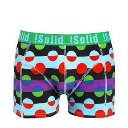 Solid - originální barevné boxerky Gianni