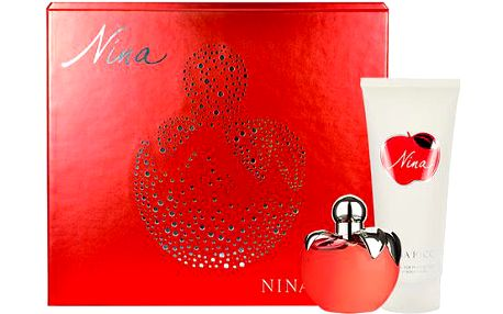 Nina Ricci Nina EDT dárková sada W - Edt 80ml + 200ml tělové mléko