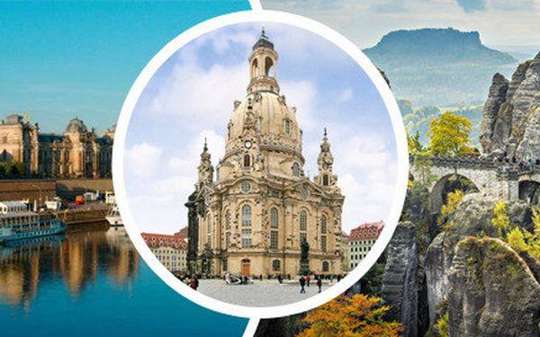 Výlet vlakem v sobotu 13. a 20. září 2014 z Prahy do Drážďan s plavbou lodí do Pirny