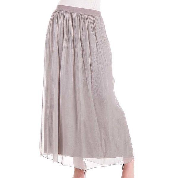 Dámská dlouhá hedvábná sukně Keysha
