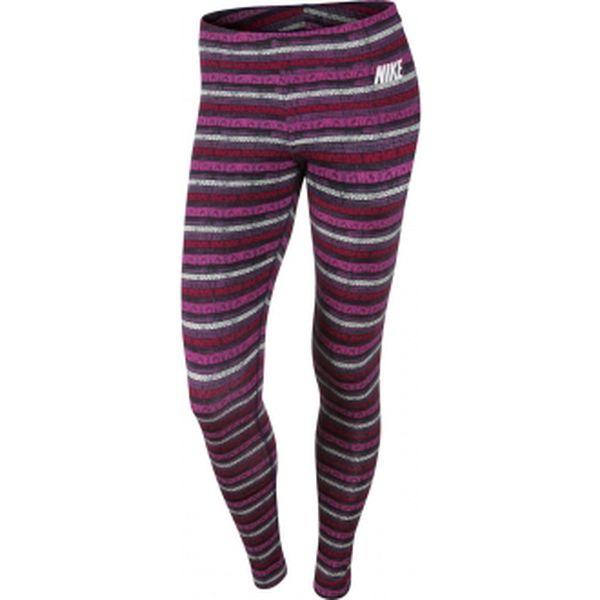 Dámské elastické kalhoty - Nike LEG-A-SEE-AOP