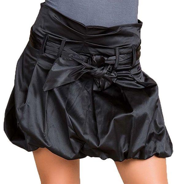 Dámská černá balonová sukně Keysha