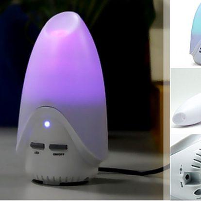 Difuzér s LED osvětlením