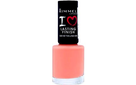Rimmel London I Love Lasting Finish Nail Polish 8ml Lak na nehty W - Odstín 405 Loafer Love For You