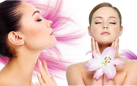 90minutová luxusní kosmetická péče pro hydrataci a výživu pleti