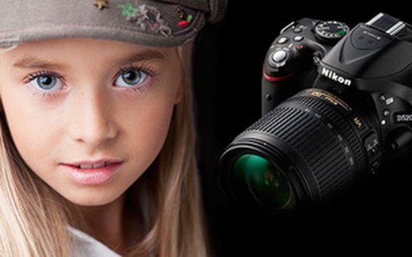Ovládání digitální zrcadlovky + první krůčky při focení portrétu 13.9.