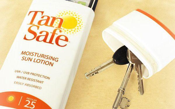 TanSafe opalovací krém na doklady - buďte chytřejší než zloději!