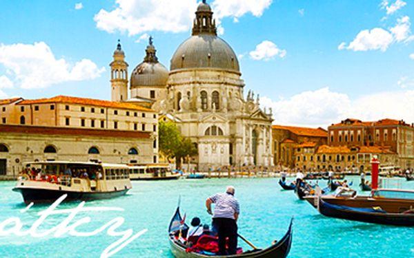 Romantické Benátky + ostrovy Muráno a Buráno: víkendový zájezd.
