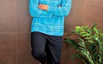 Kvalitní balvněné pánské pyžamo PS 9187 Andrie
