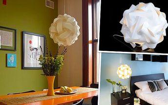 Stylová designová Lampa Puzzle za akční cenu!