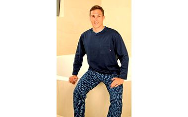 Pánské pyžamo s dlouhým rukávem a nohavicemi PS 9198 Andrie