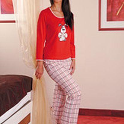 Bavlněné dámské pyžamo PS 9175 značky Andrie