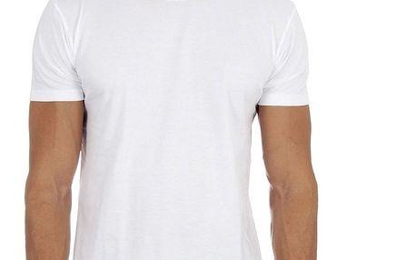 Dvě pánská bílá trička DIM