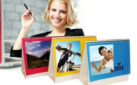 Kalendář z vlastních fotografií jen za 194 Kč!
